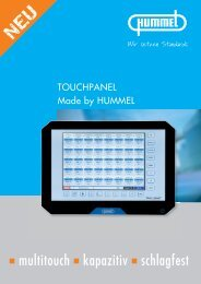 Touchpanel - Hummel AG