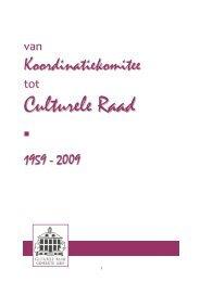 Van Koordinatiekomitee tot culturele raad (pdf) - Gemeente Lede