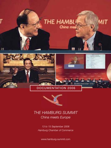 Documentation Brochure - Hamburg Summit