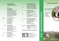 FACH- UND INFORMA TIONSTAG - Herzogsägmühle