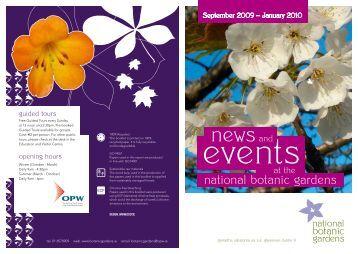 Events National Botanic Gardens