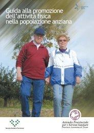 Guida alla promozione dell'attività fisica nella popolazione anziana