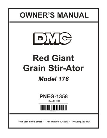 red giant grain stir ator david manufacturing co?quality\\\\\\\=85 rascal 245 wiring diagram gandul 45 77 79 119  at gsmx.co