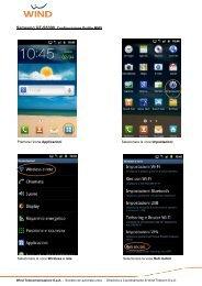 Samsung GT-S5300 Configurazione Profilo MMS Premere l ... - Wind