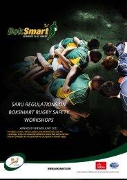 saru regulations on boksmart rugby safety workshops - SuperSport