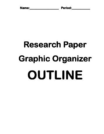 graphic design research paper outline Research paper outline examples once you've decided what topic you will be writing about, the next thing you should pay attention to is the scope of your paper or what you will be including in your discussion.