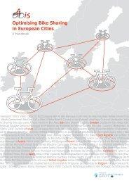 Optimising Bike Sharing in European Cities - A Handbook - Eltis