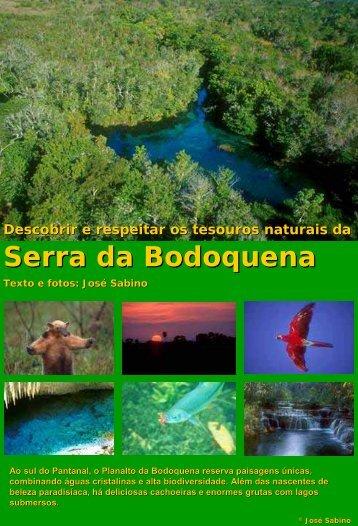 Descubra os tesouros naturais da Serra da Bodoquena - Bonito