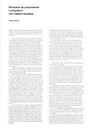 Déclaration du gouvernement Ludwig Beckl Carl Friedrich Goerdeler