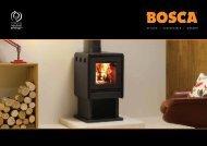 Bosca Stoves - Brochures - Stovax