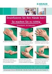 Desinfizieren Sie Ihre Hände hier! - Markus Bruckner Analysentechnik