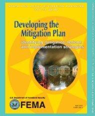 FEMA Mitigation Planning Guide