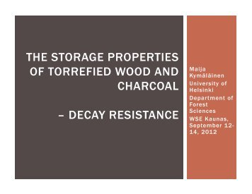 decay resistance