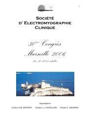 Résumés des communications - Société d'Electromyographie Clinique