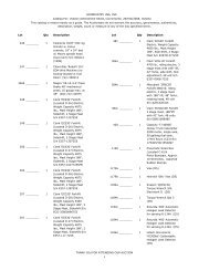 GOINDUSTRY USA, INC. Catalog For: Visteon Amendment Sheet ...