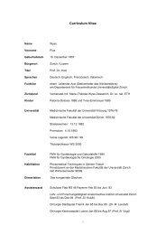 Profil - Gynäkologie Geburtshilfe Seefeld