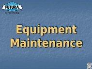Equipment Maintenance - ITW Futura Coatings