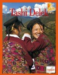 Tashi Delek Inflight Magazine - Rainbow Photo Tours Bhutan