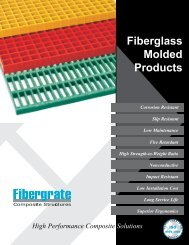 Fiberglass Molded Products - Grating Pacific