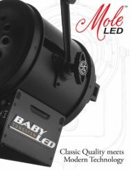 MoleLED Brochure - Mole-Richardson