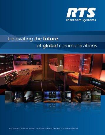 RTS Intercom Systems Product Catalog - Audiofan