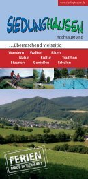 …überraschend vielseitig - SGV Siedlinghausen