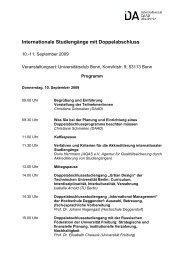 Aktuelles Programm - Internationale DAAD-Akademie (IDA)