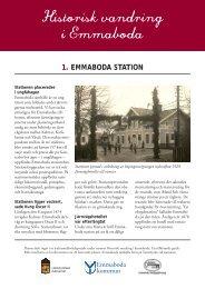 Historisk vandring i Emmaboda - skyltar.pdf - Emmaboda kommun