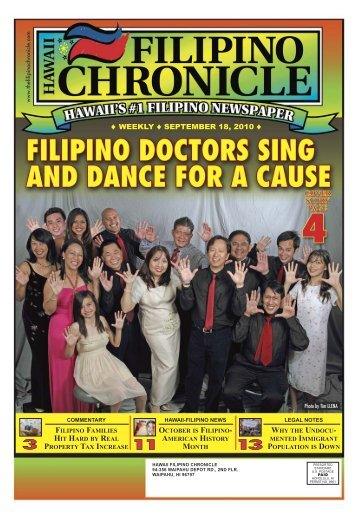 09/18/2010 - Hawaii-Filipino Chronicle