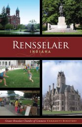 The Greater Rensselaer Chamber of - Countywide Guides & Maps