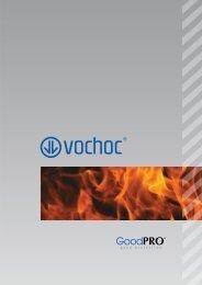 Gloves against heat risks GoodPRO - line K - VOCHOC