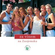 za vínem - Vína z Moravy, vína z Čech