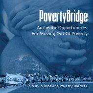PovertyBridge: Authentic Opportunities for Moving Out of ... - CWDA
