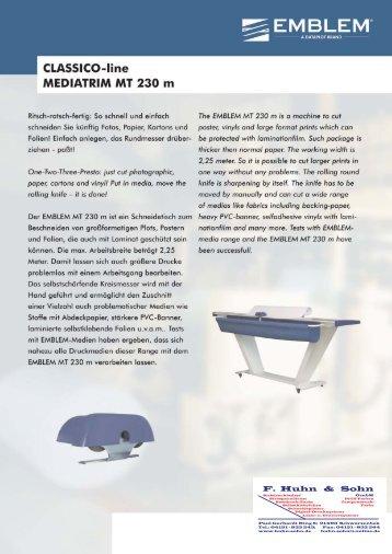 Schneide-Tisch - F. Huhn & Sohn GmbH