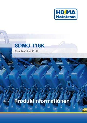 SDMO T16K - HO-MA-Notstrom