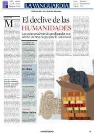 20/04/2011 Noticia publicada en La Vanguardia - OTRI