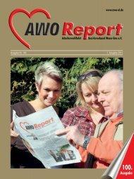 AWO Report Nr. 100 - AWO Bezirksverband Weser-Ems