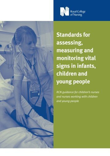 Standards for assessing, measuring and monitoring vital signs in ...