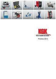 Prisliste 2013 - KGK A/S