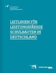 leitlinien für leistungsfähige schulbauten in deutschland
