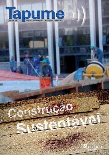Edifício ECO Berrini em construção - HOCHTIEF do Brasil