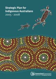 Strategic Plan for Indigenous Australians 2005-2008 - Department of ...