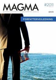 forfatterveiledning 2011 - Fagbokforlaget