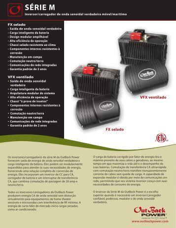 SÉRIE M - OutBack Power Systems