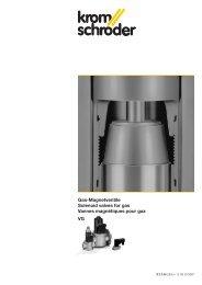 Gas-Magnetventile Solenoid valves for gas Vannes ... - Gasotec