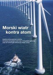 Raport: Morski wiatr kontra atom