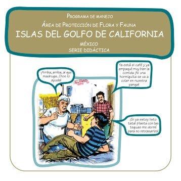 ISLAS DEL GOLFO DE CALIFORNIA - área de protección de flora y ...