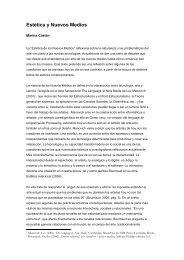 Estética y Nuevos Medios - ESDi