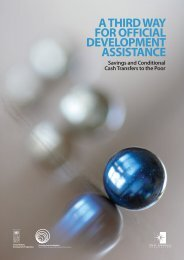 A Third Way for Official Development Assistance - New America ...