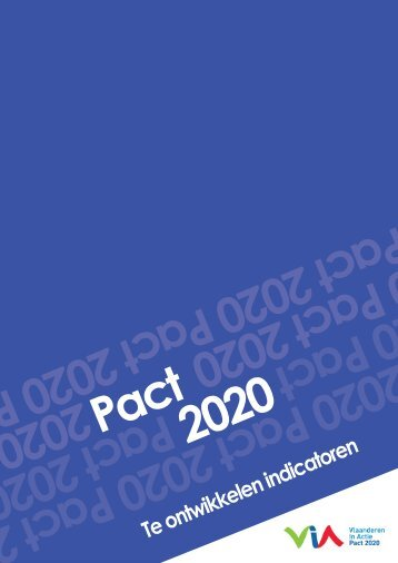 2010-03-22-pact2020-te-ontwikkelen-indicatoren - Vlaanderen.be